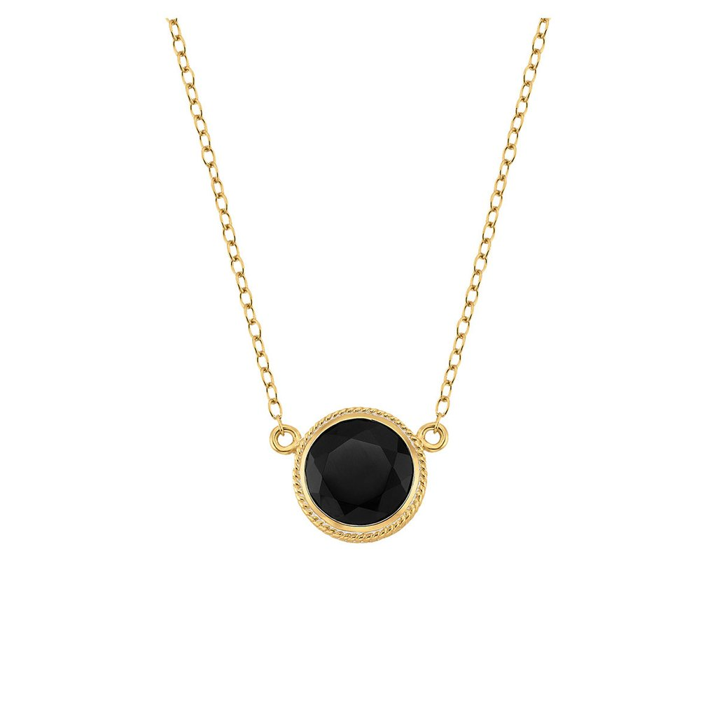 Anna beck black onyx necklace aloadofball Image collections