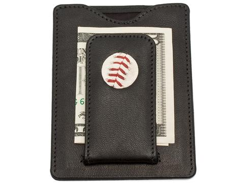 Phillies Game Used Baseball Wallet