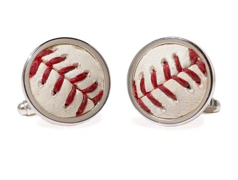 Phillies Game Used Baseball Cuff Links